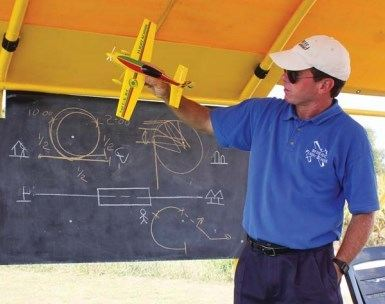 Solo Model Airplane Flight Training Course